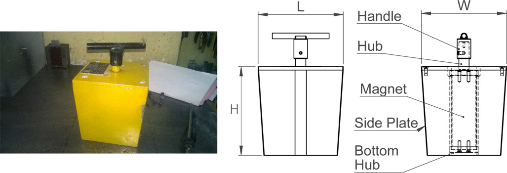 shuttering-magnet-tapered-shape